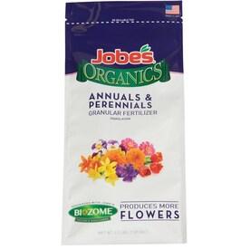 Jobe's Jobes Organics Annual and Perennial Plant Food 4-lb Natural Flower Food