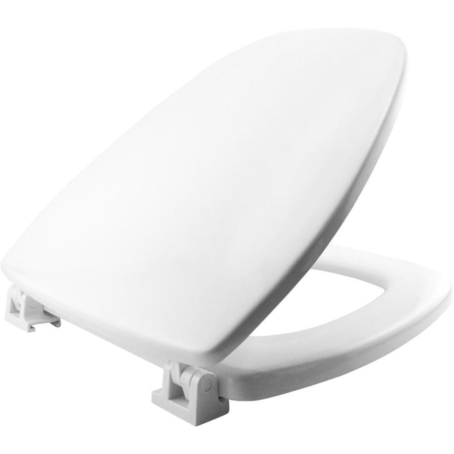 Shop Church Norwall Wood Toilet Seat At