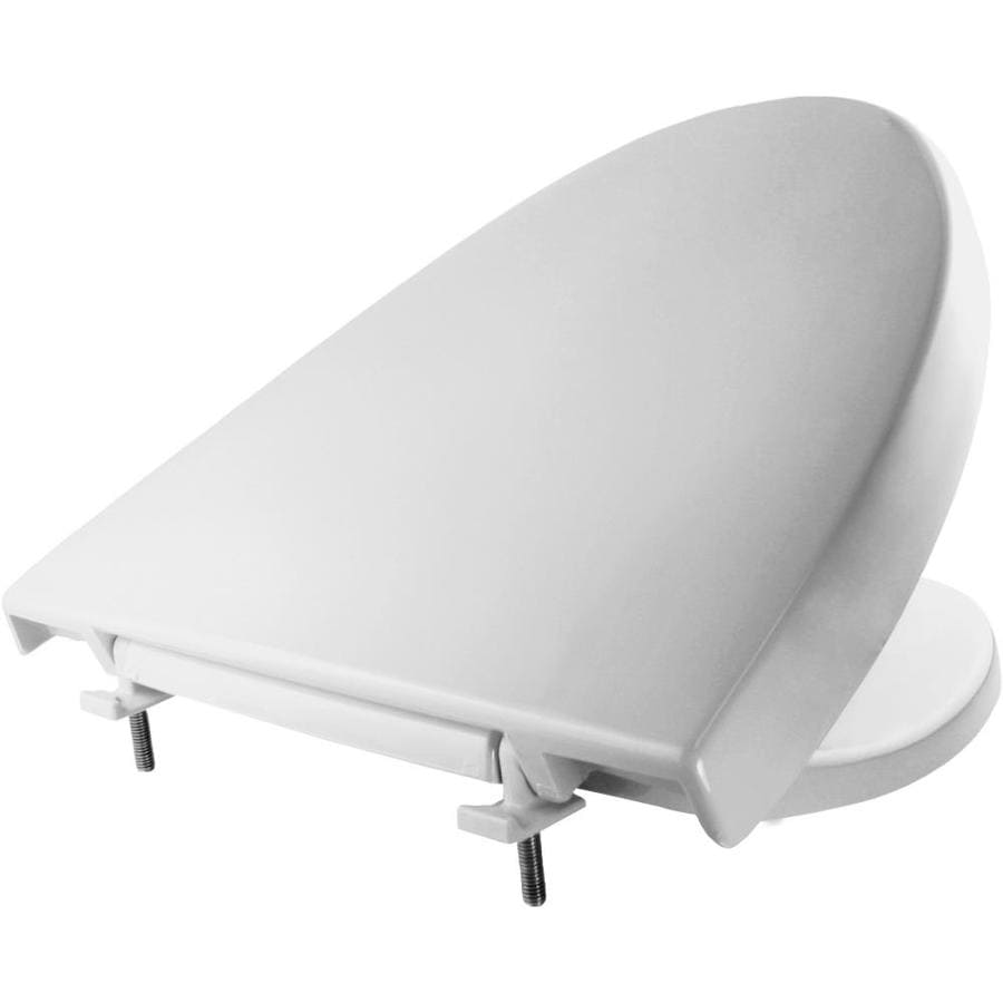 Church Elisse Plastic Elongated Toilet Seat