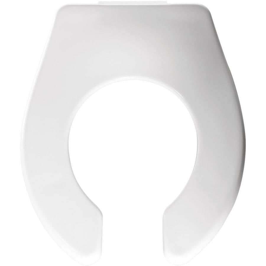 Church Baby Bowl White Plastic Round Toilet Seat