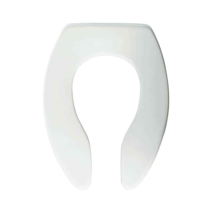 Bemis Commercial Plastic Elongated Toilet Seat