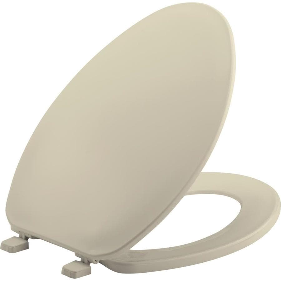 Bemis Bone Plastic Elongated Toilet Seat