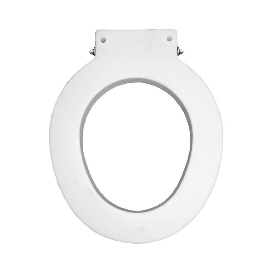Bemis Medical Assistance White Plastic Round Toilet Seat