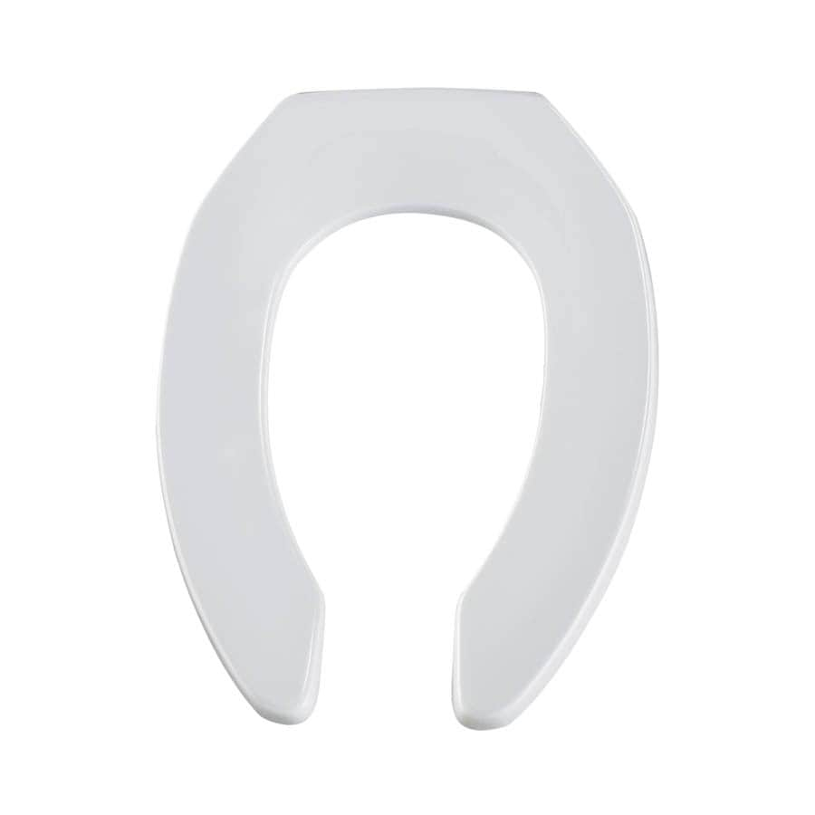 Bemis Commercial Plastic Elongated Toilet Seat At Lowes Com