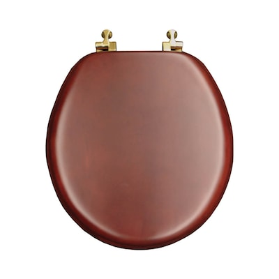 Miraculous Natural Reflections Cherry Wood Round Toilet Seat Andrewgaddart Wooden Chair Designs For Living Room Andrewgaddartcom