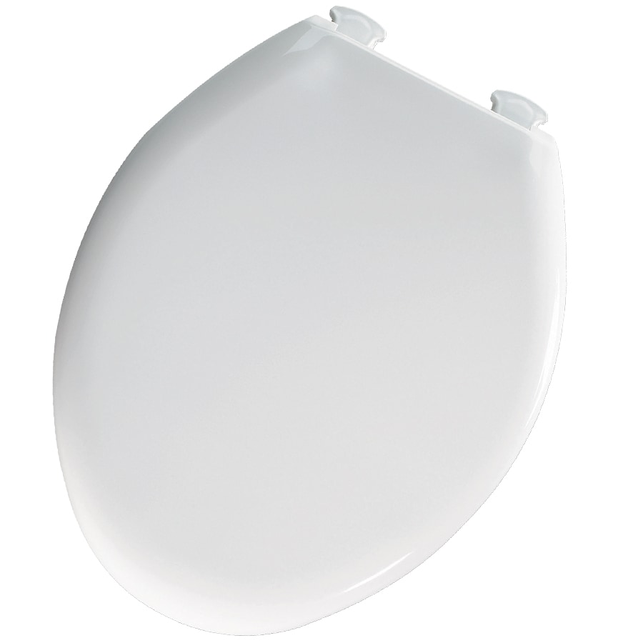 Westport Whisper Close White Plastic Elongated Slow Close Toilet Seat