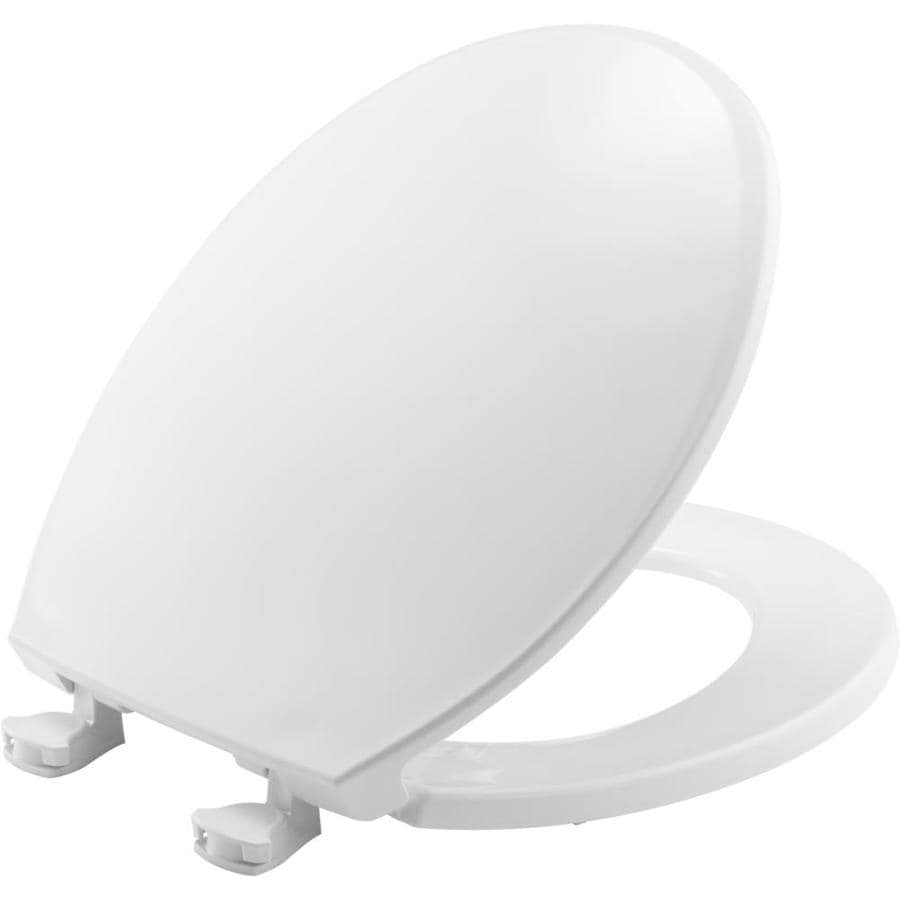 Church Lift-Off Plastic Round Toilet Seat