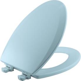 Marvelous Blue Elongated Toilet Seats At Lowes Com Dailytribune Chair Design For Home Dailytribuneorg