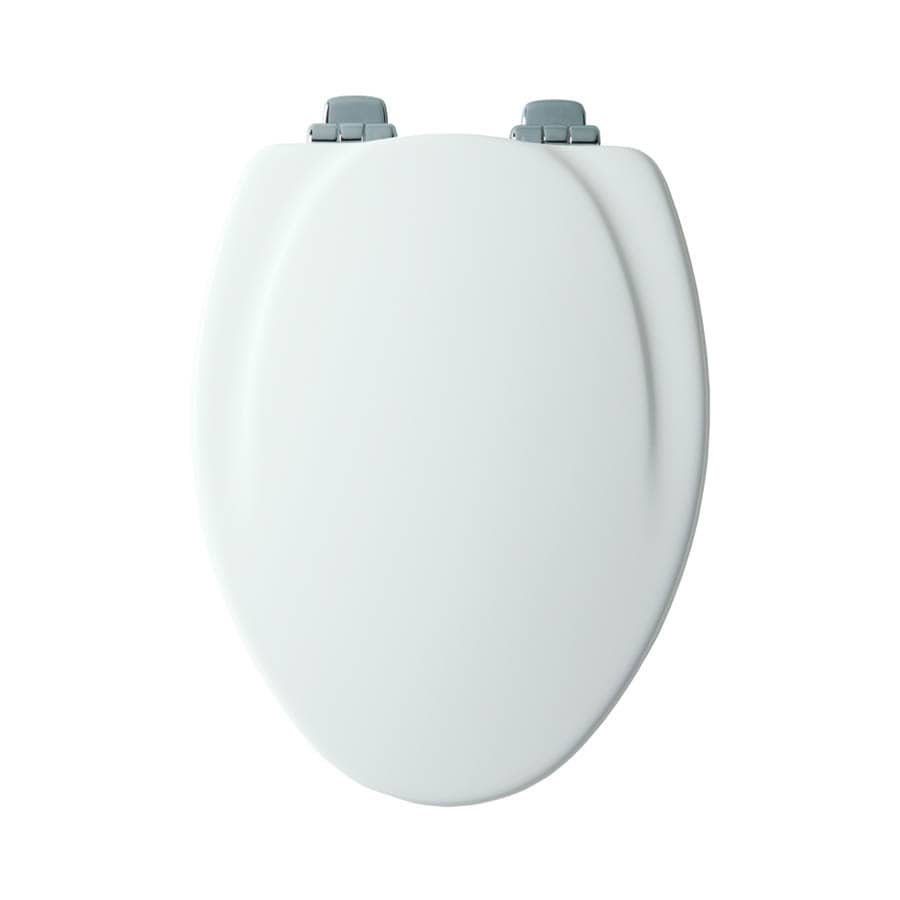 Mayfair Wood Elongated Slow-Close Toilet Seat