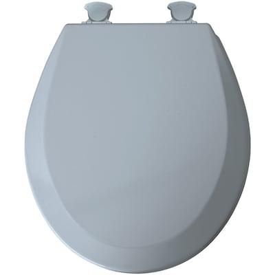 Tremendous Lift Off Blue Wood Round Toilet Seat Ibusinesslaw Wood Chair Design Ideas Ibusinesslaworg