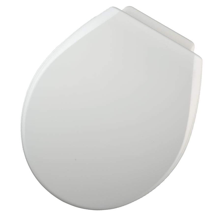 Shop Church Xcite White Wood Round Toilet Seat At Lowes Com