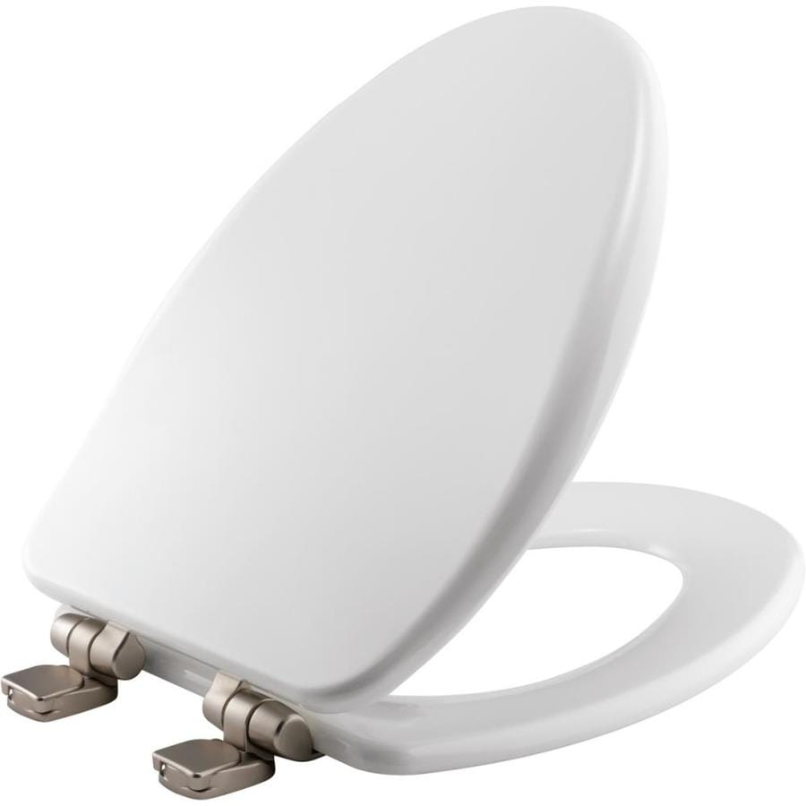 Bemis Wood Elongated Slow-Close Toilet Seat