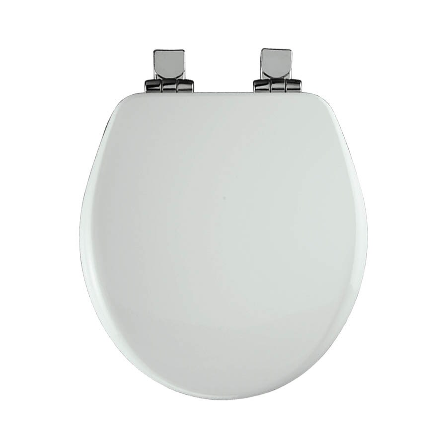 Church Wood Round Slow Close Toilet Seat At Lowes Com