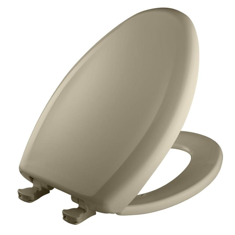 Bemis Lift-Off Plastic Elongated Slow-Close Toilet Seat