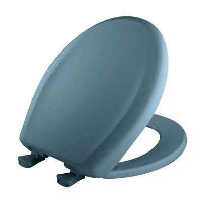 Bemis Lift Off Plastic Round Slow Close Toilet Seat At