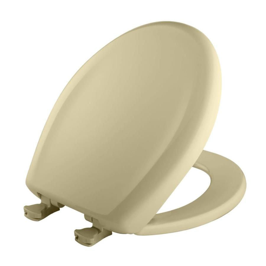 Bemis Lift-Off Plastic Round Slow-Close Toilet Seat