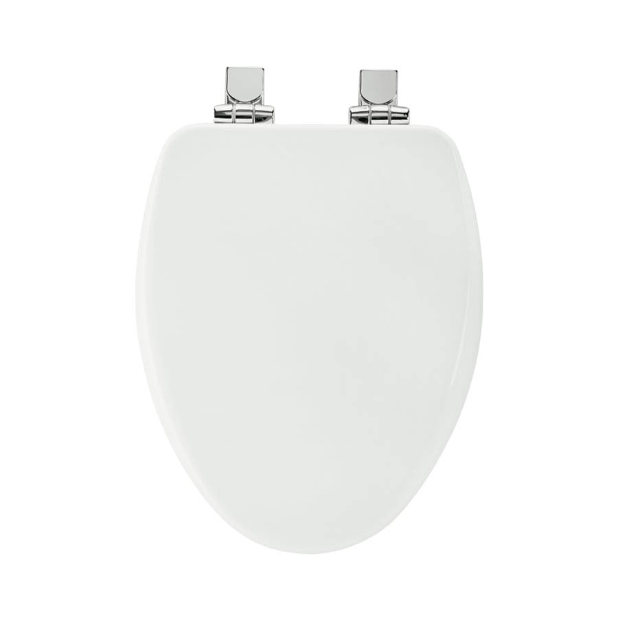 Shop Bemis Wood Elongated Slow Close Toilet Seat At