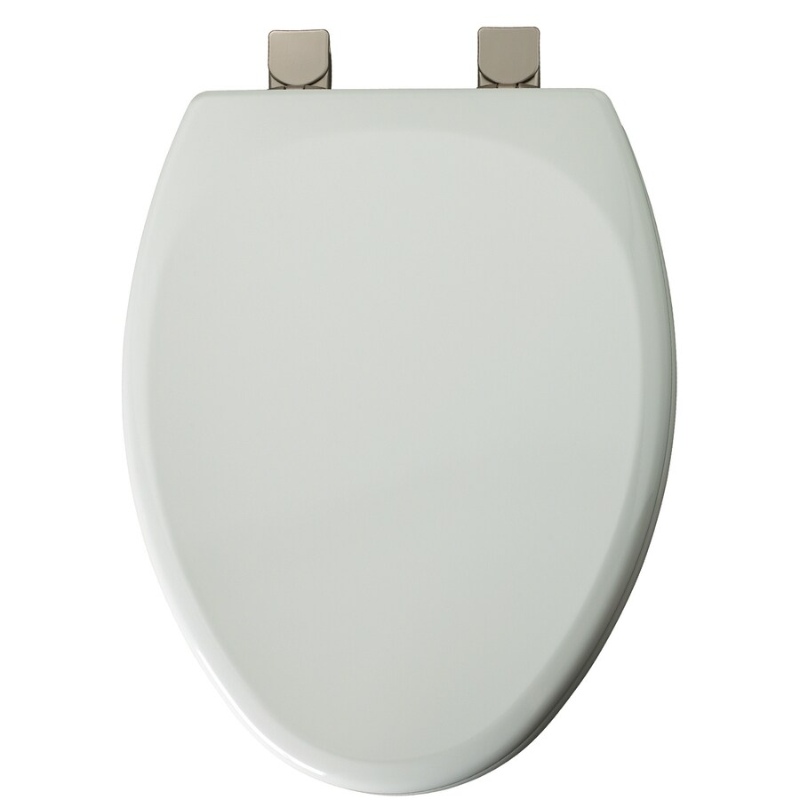 Church White Wood Elongated Toilet Seat