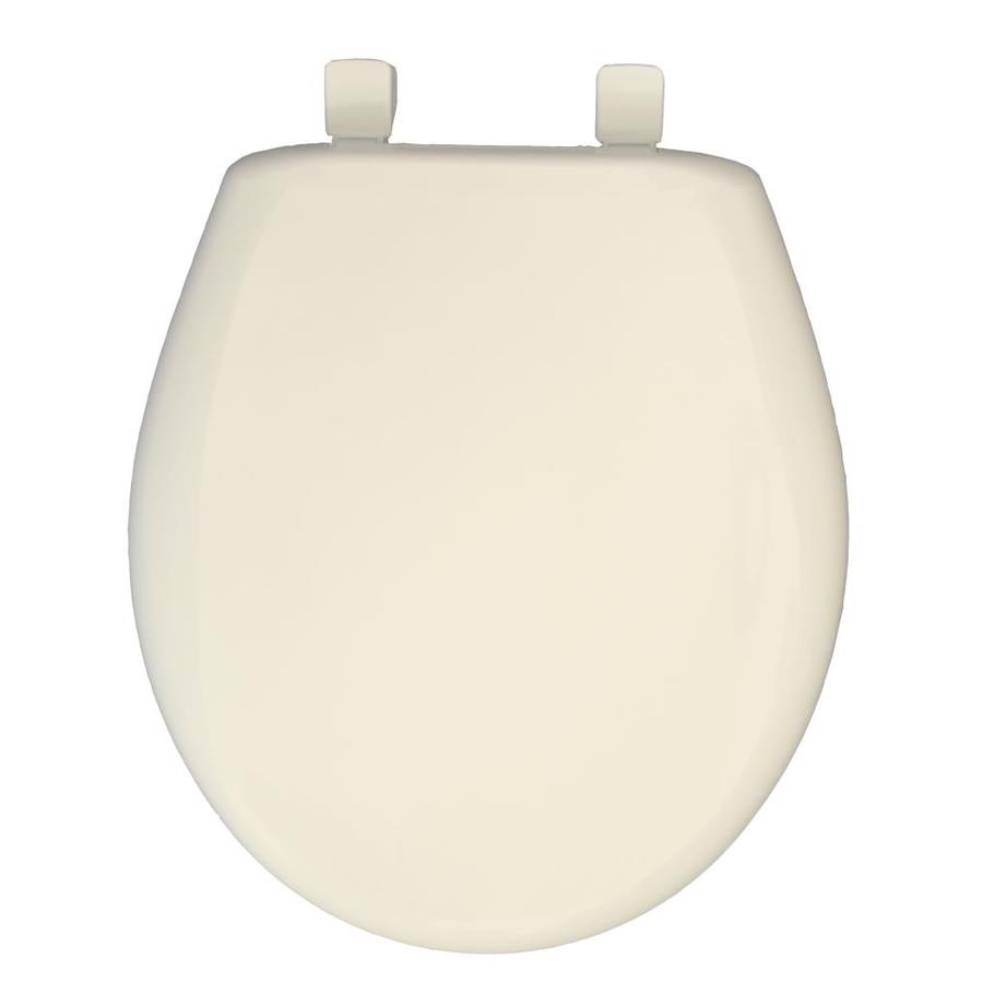 Church Plastic Round Slow Close Toilet Seat At Lowes Com