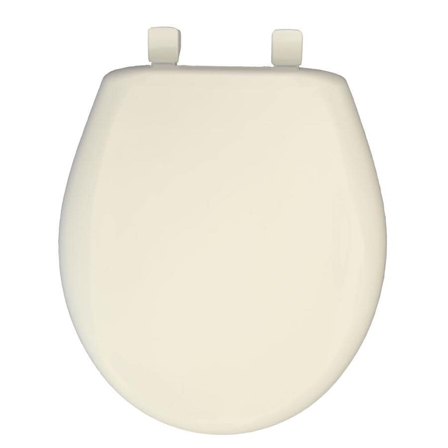 Church Biscuit Plastic Round Slow Close Toilet Seat
