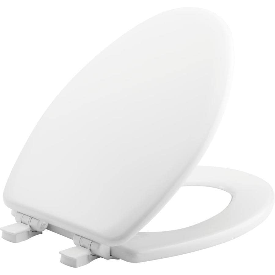 Bemis Nextstep Wood Elongated Slow Close Toilet Seat At