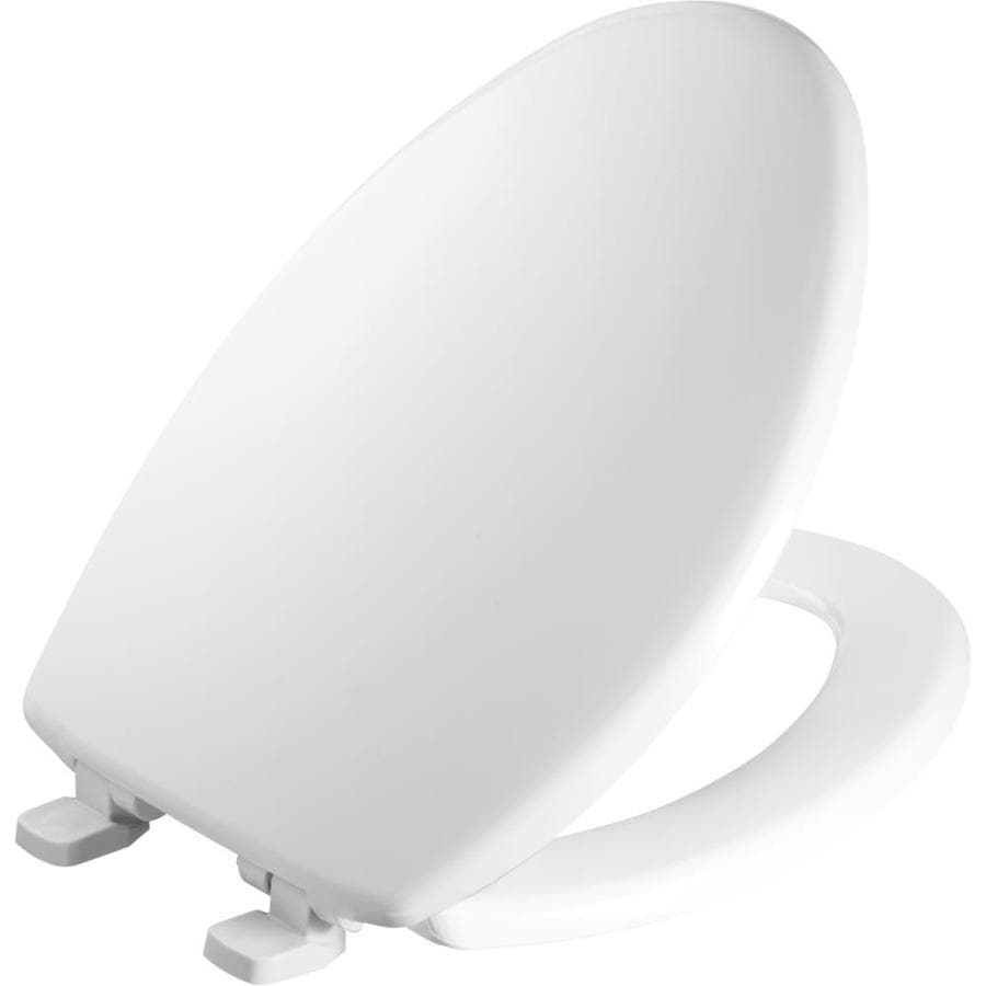 Shop Church Plastic Elongated Slow Close Toilet Seat At
