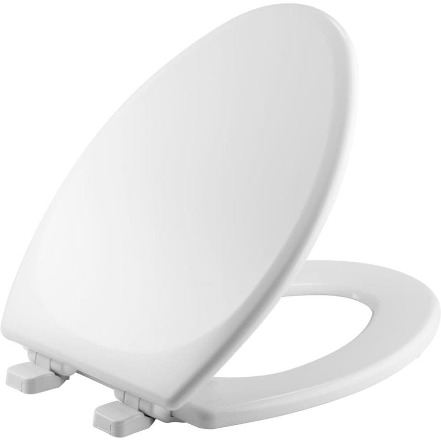 Church Wood Elongated Slow Close Toilet Seat At Lowes Com