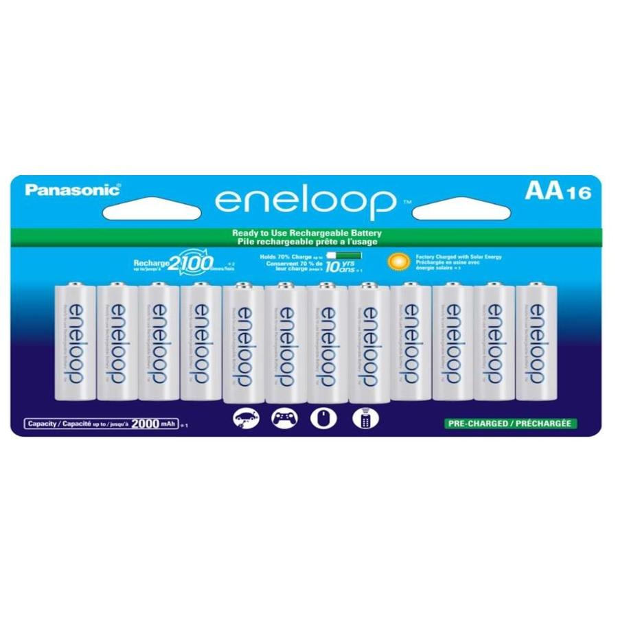 Panasonic 16-Pack AA Rechargeable Battery