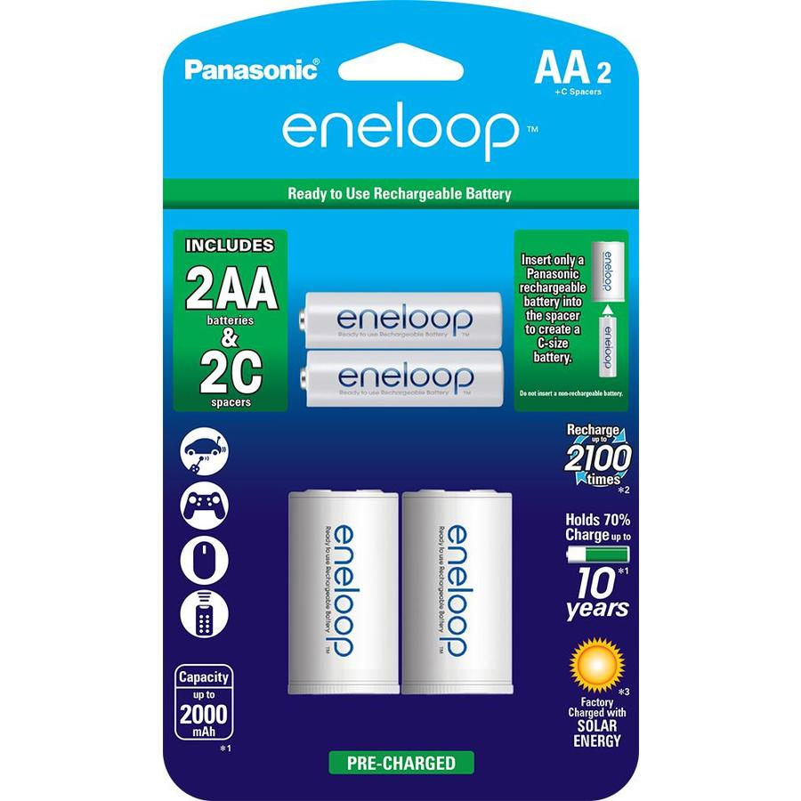 Panasonic 2-Pack AA Rechargeable Battery