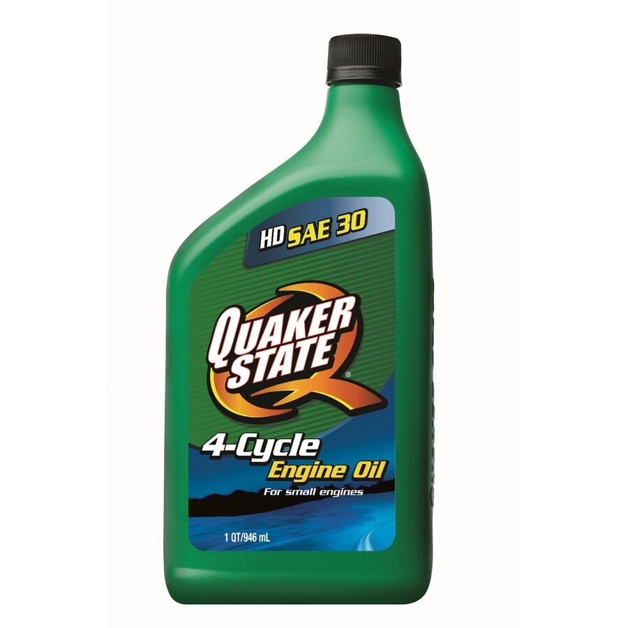 Quaker State 32 Oz 30w Conventional Engine Oil At Lowescom