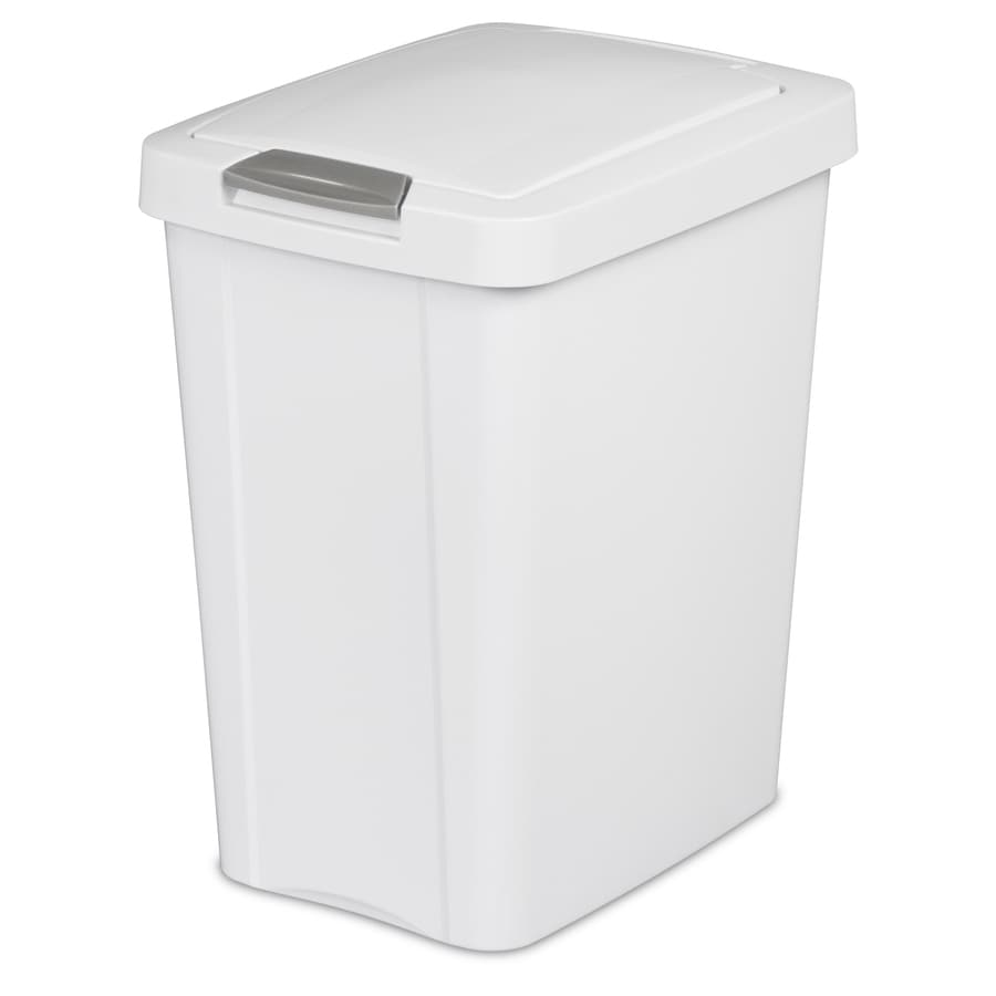 Sterilite Corporation White Wastebasket