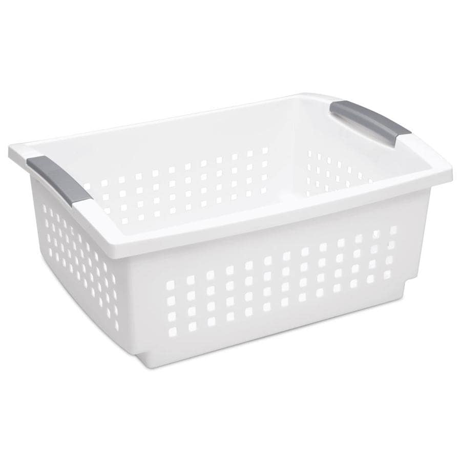 Shop Sterilite Corporation 12875 in W x 725 in Tier Plastic Basket