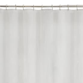 Eva Peva Frost Solid Shower Liner 72 In X 70