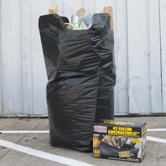 Contractor 50 Pack 42 Gallon Black