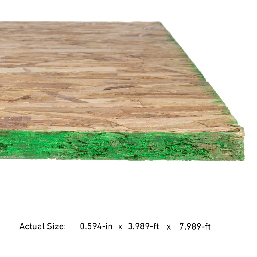 5/8 CAT PS2-10 OSB Sheathing, Application as 4 x 8
