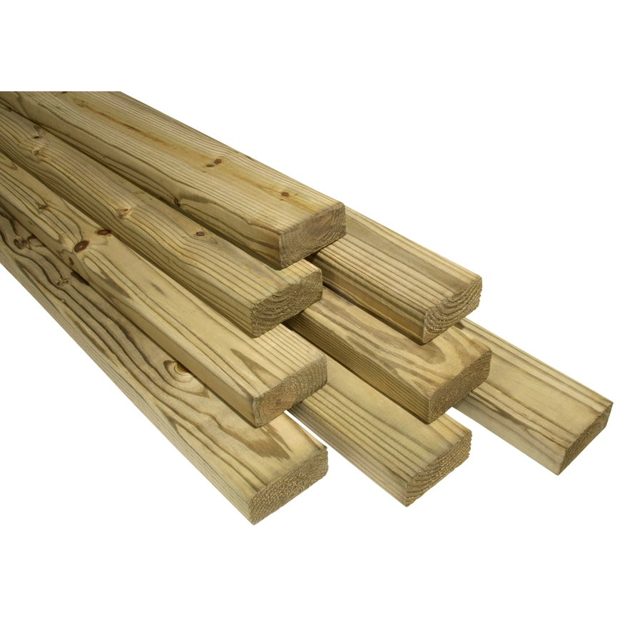 2x4x20 TOP CHOICE TREATED DECKING FIR