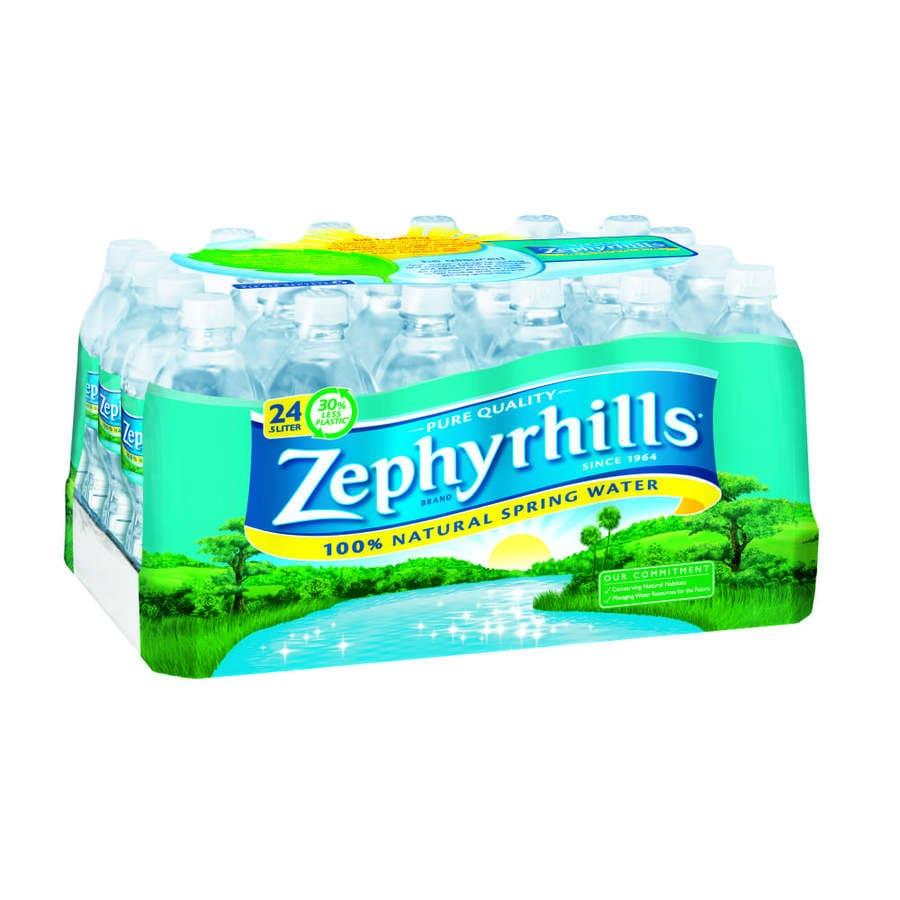 Zephyrhills 24-Pack 16.9-fl oz Spring Water