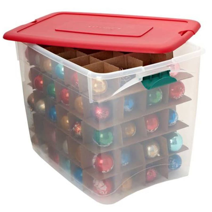 Plastic Christmas Tree Storage Container