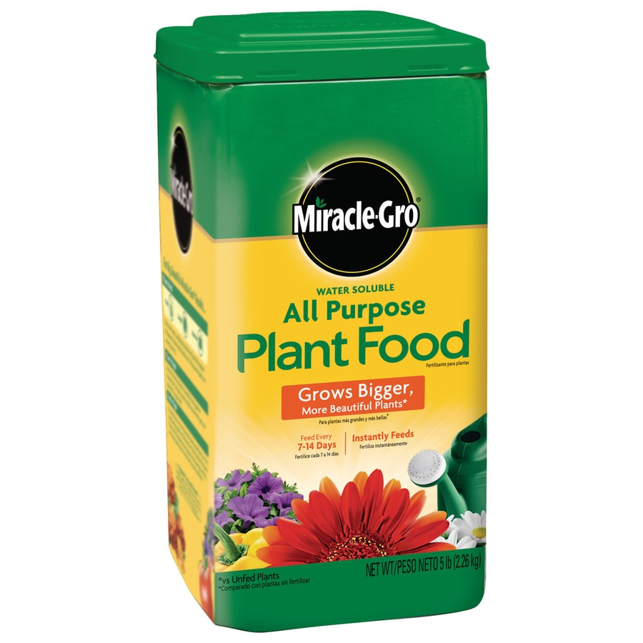 Miracle-Gro 5-lb Indoor Plant Food