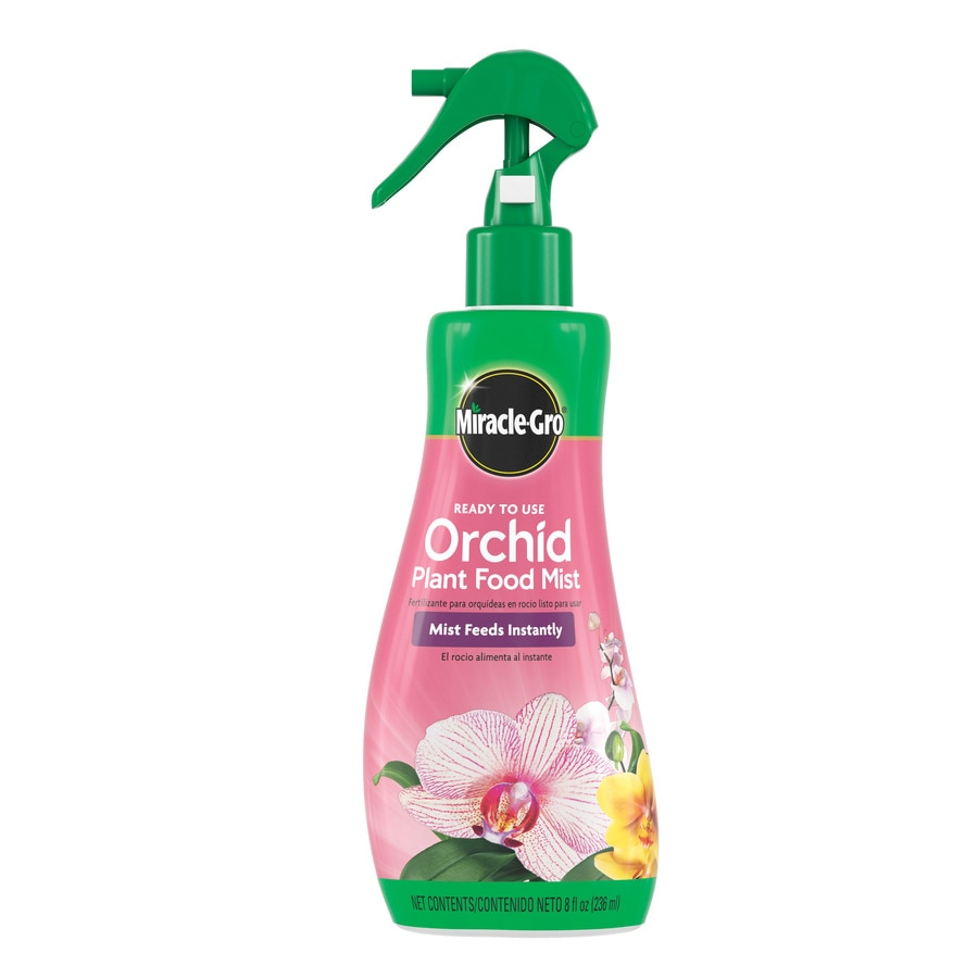 Miracle-Gro Ready-To-Use Orchid Plant Food Mist 8-fl oz Indoor Plant Food (0.02-0.02-0.02)