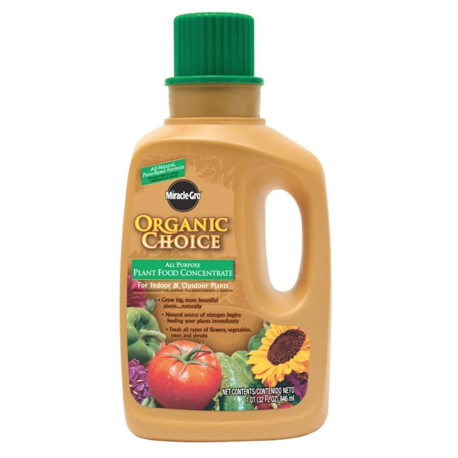 Miracle gro 32 fl oz natural all purpose food at - Miracle gro all purpose garden soil ...