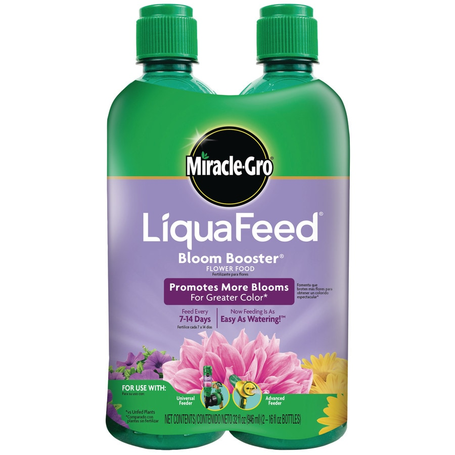 Miracle-Gro Liquafeed Bloom Booster Refills 2-Count Flower Food (12-9-6)