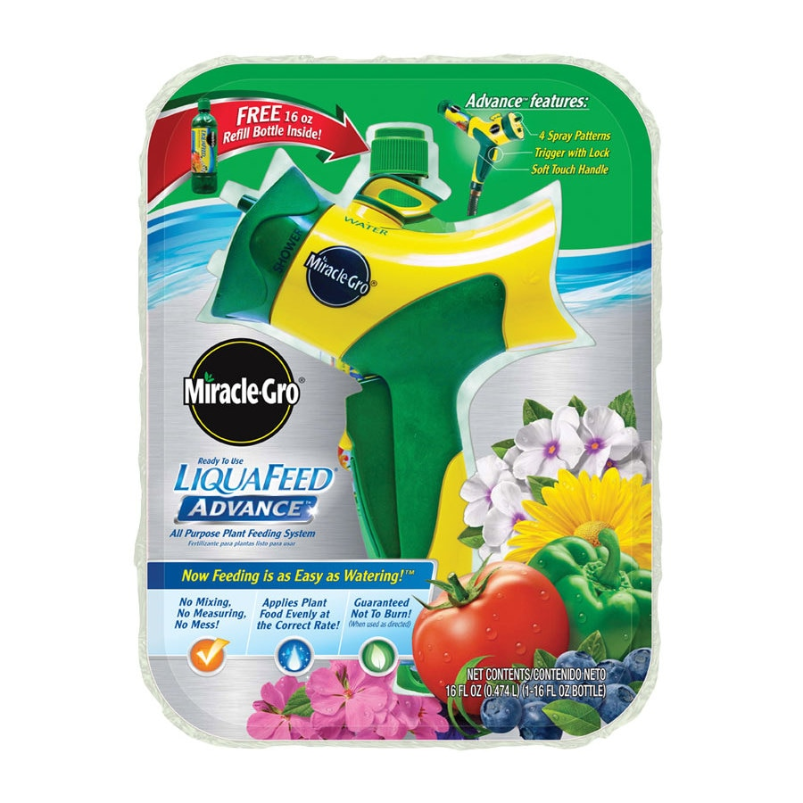 Miracle-Gro Liquafeed Advanced Starter Kit All Purpose Food (12-4-8)