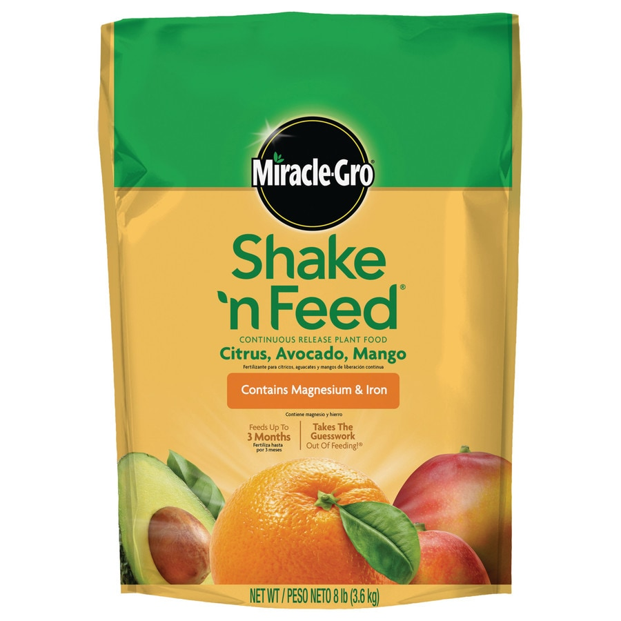 Miracle-Gro Shake N Feed Citrus, Avocado, Mango 8-lb All Purpose Food