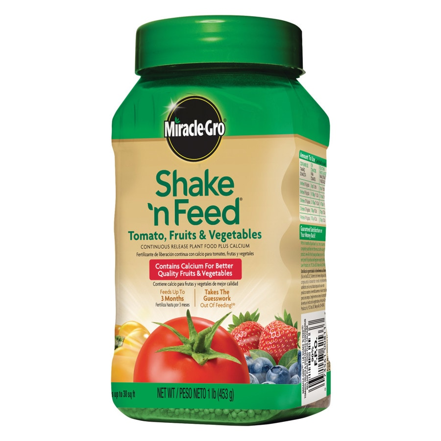 Miracle-Gro Shake 'N Feed 1-lb Vegetable Food