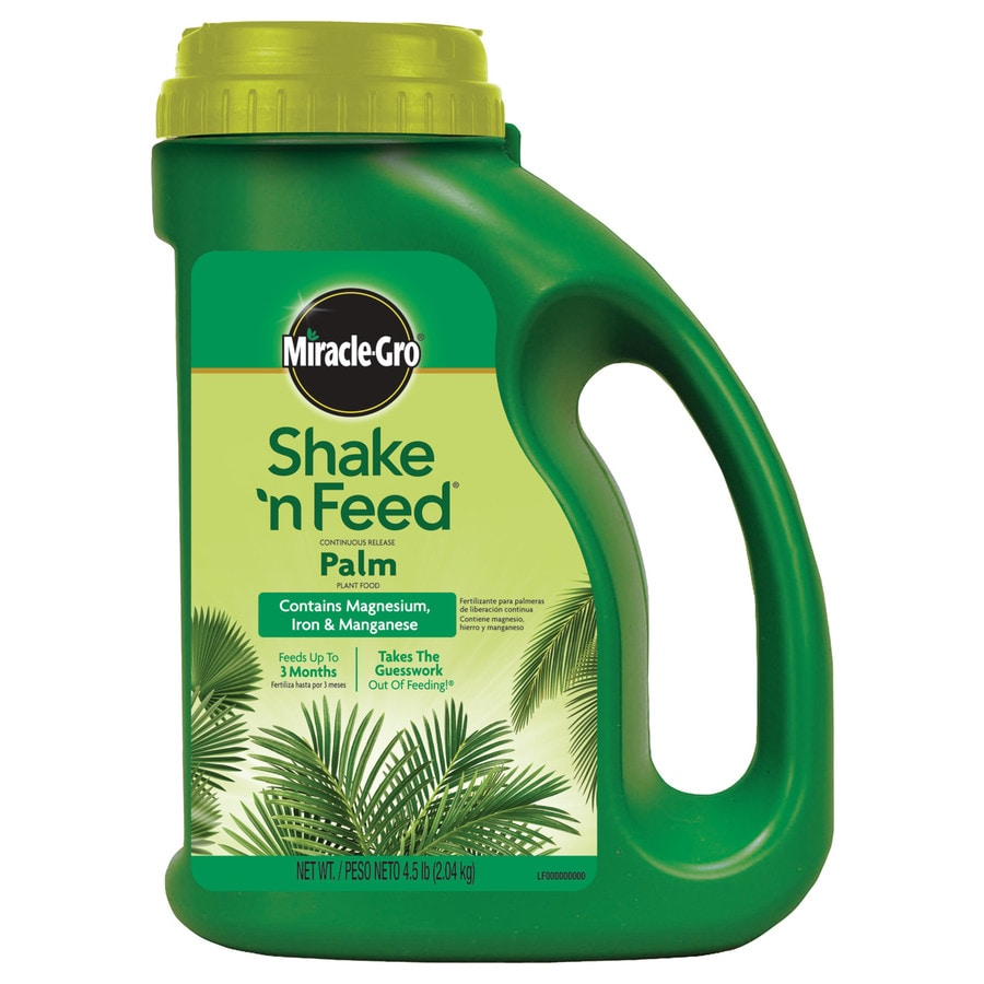 Miracle-Gro 4.5-lb Shake 'N Feed Palm Plant Food (8-8-8)