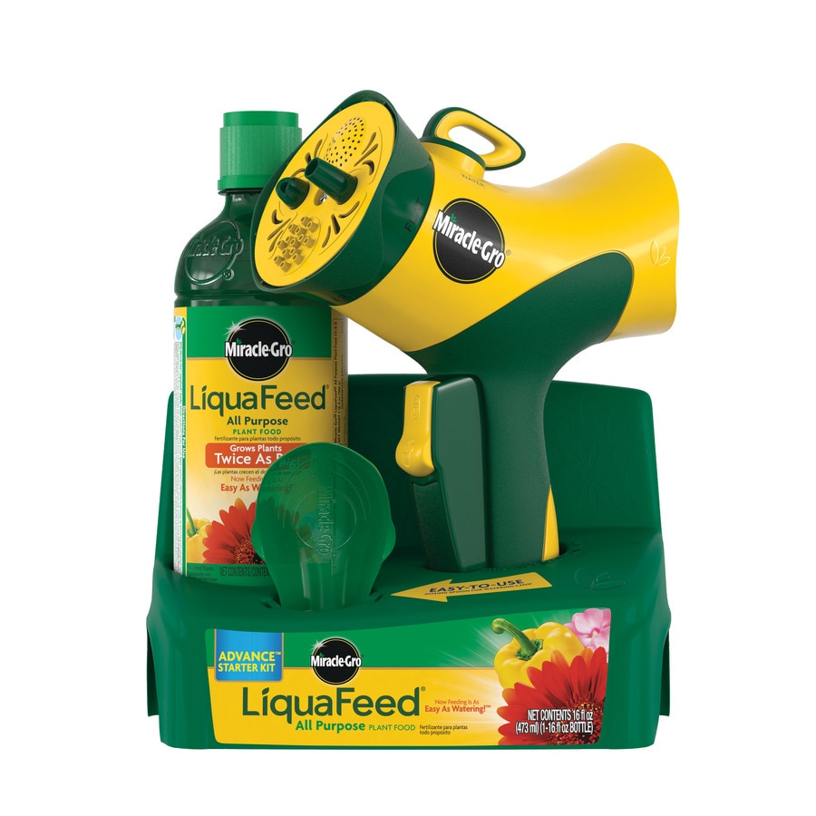 Miracle-Gro Liquafeed Advanced Starter Kit 16-fl oz All Purpose Food (12-4-8)