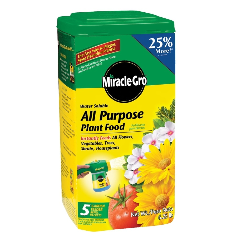 Miracle-Gro 6.25-lb All Purpose Food (24-8-16)