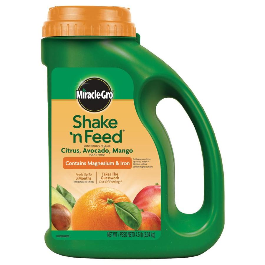 Miracle-Gro Shake 'N Feed Citrus, Avocado, Mango 4.5-lb Food (13-7-13)