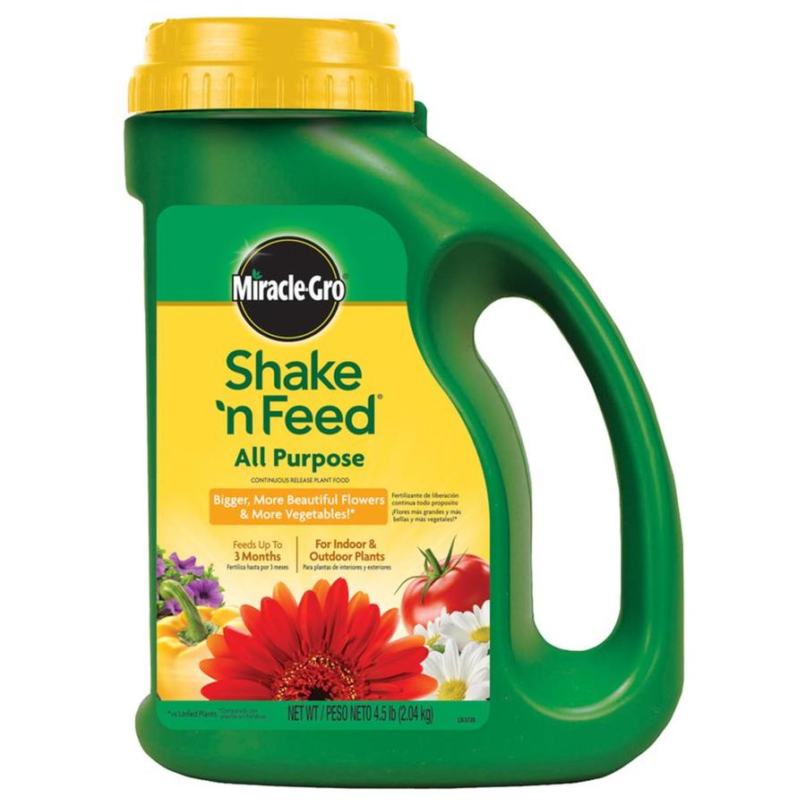 Miracle-Gro Shake 'N Feed 4-lb All Purpose Food